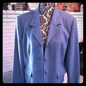 Sag Harbor Wool Rich blend blazer